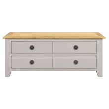 Oxford Painted Oak Storage Coffee Table - Oxford Painted Oak - HomePlus Furniture