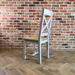 Oxford Painted Oak Wooden Dining Chair - HomePlus Furniture