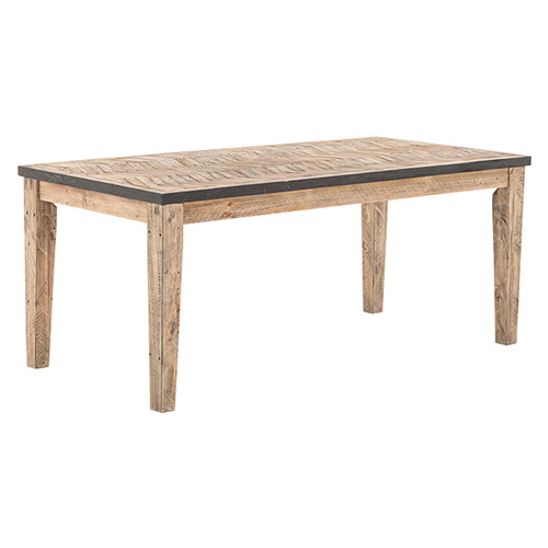 Casablanca Chevron Dining Table