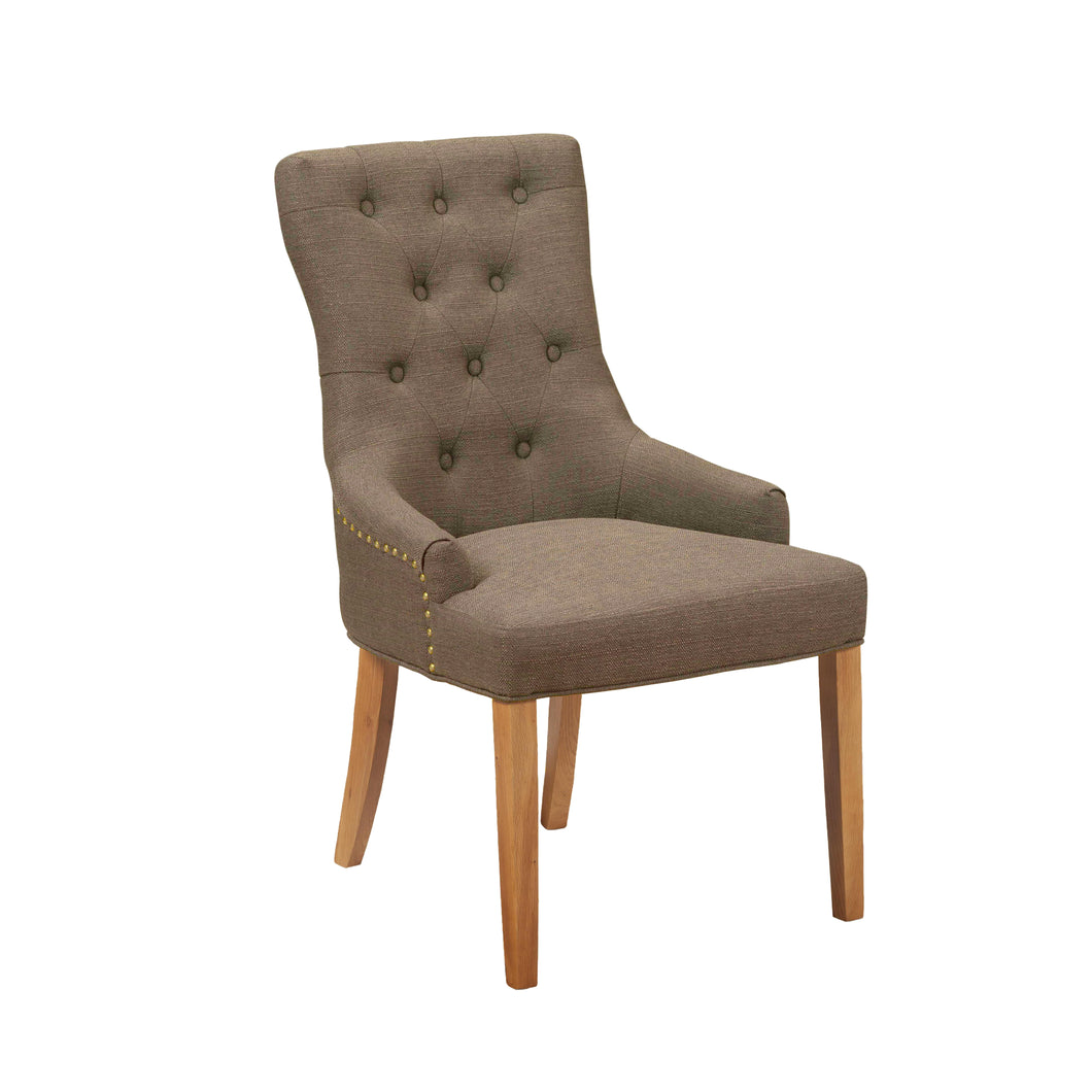 Regent Dining Chair | Stone Brown - HomePlus Furniture