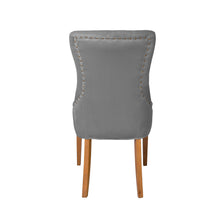 Regent Velvet Dining Chair | Grey - HomePlus Furniture