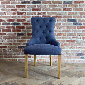 Regent Dining Chair | Slate Blue