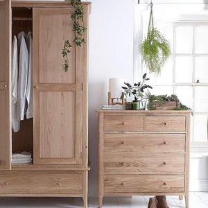 Newtown 2 Door Wardrobe - HomePlus Furniture
