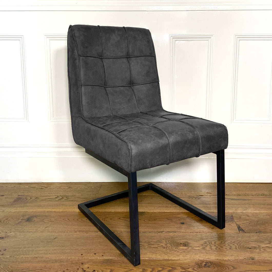 Shoreditch Industrial Dining Chair | Grey