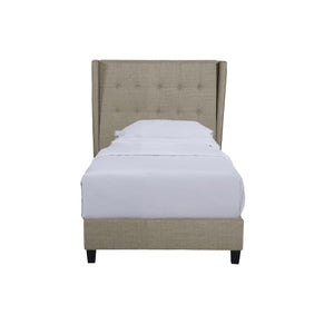 Royal Deluxe Winged 3ft Single Bed | Beige - HomePlus Furniture - HomePlus Furniture