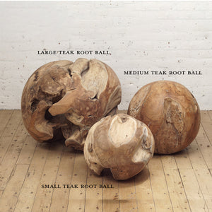 Large Teak Root Ball - HomePlus Furniture