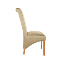 Trent Velvet Dining Chair | Gold - HomePlus Furniture - HomePlus Furniture