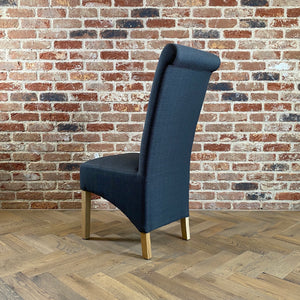 Trent Dining Chair | Charcoal - HomePlus Furniture