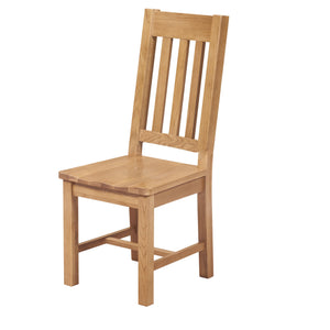 Waxed Canterbury Oak Dining Chair - Waxed Canterbury - HomePlus Furniture