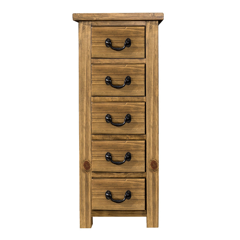 Cotswold 5 Drawer Wellington Chest - Cotswold Pine - HomePlus Furniture