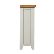 Cambridge Grey Painted Oak Small Bookcase (0.9 m)