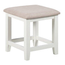 Cambridge White Painted Oak Stool