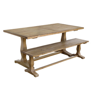 Lewes Dining Table (1.8 m) - HomePlus Furniture
