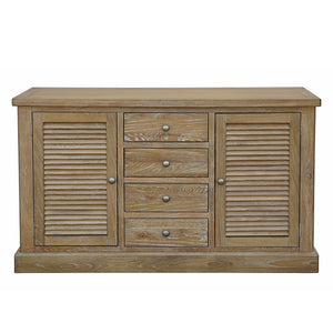 Lewes 2 Door 4 Drawer Sideboard - HomePlus Furniture