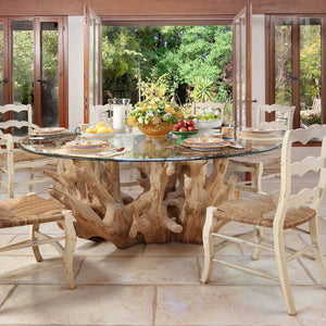 Teak Root Dining Table - Natural Teak Root - HomePlus Furniture