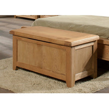 Cambridge Oak Blanket Box