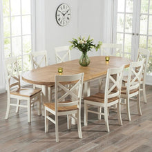 Cotswold Oval Extending Dining Table (1.8 m-2.2 m)