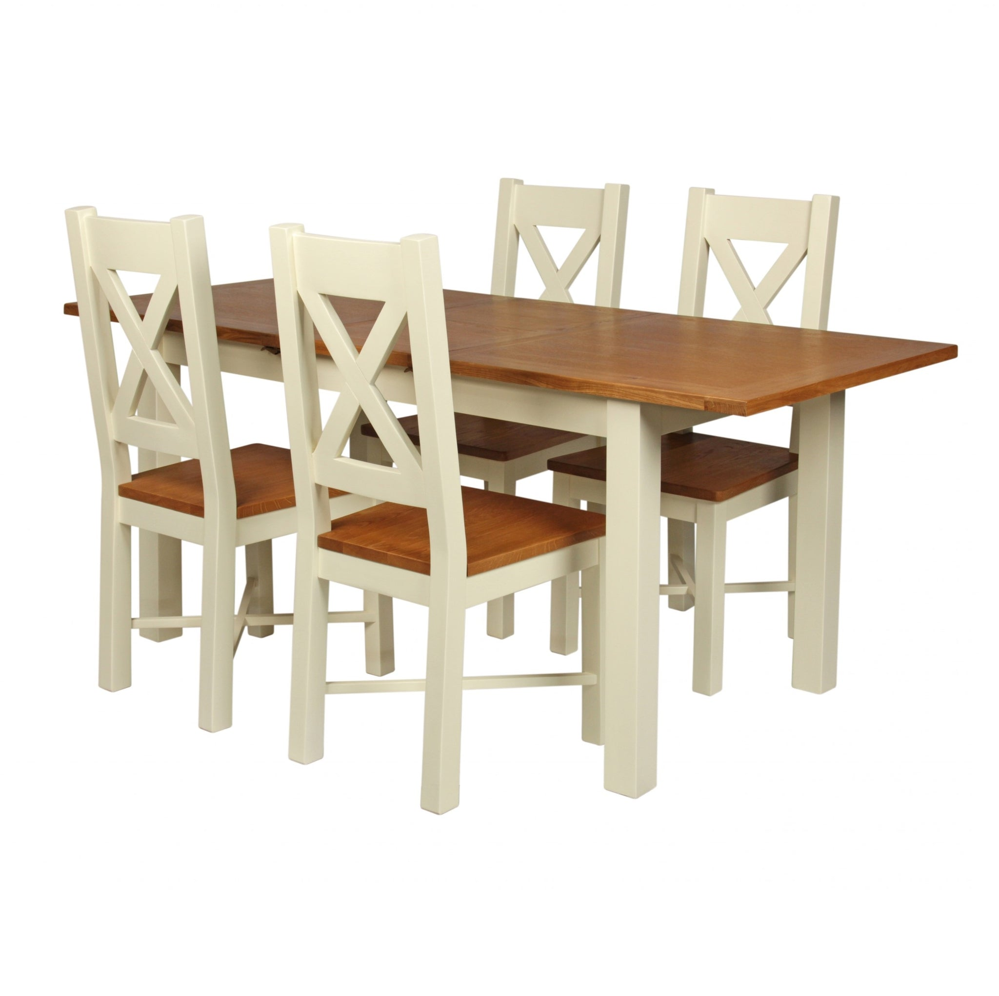 Cotswold Wimbourne Extending Dining Table 1 4 M 1 8 M