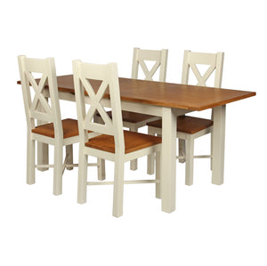 Cotswold Pine Wimbourne Extending Dining Table (0.9 m-1.3 m)