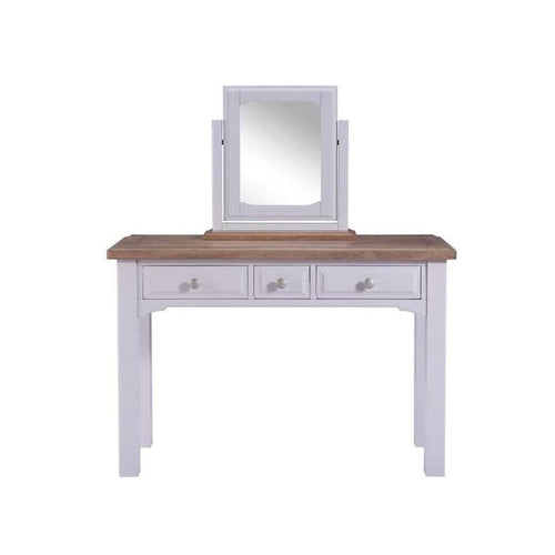 Georgia Grey Painted Oak Dressing Table