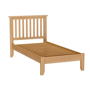 Cambridge Oak 3ft Single Bed - HomePlus Furniture