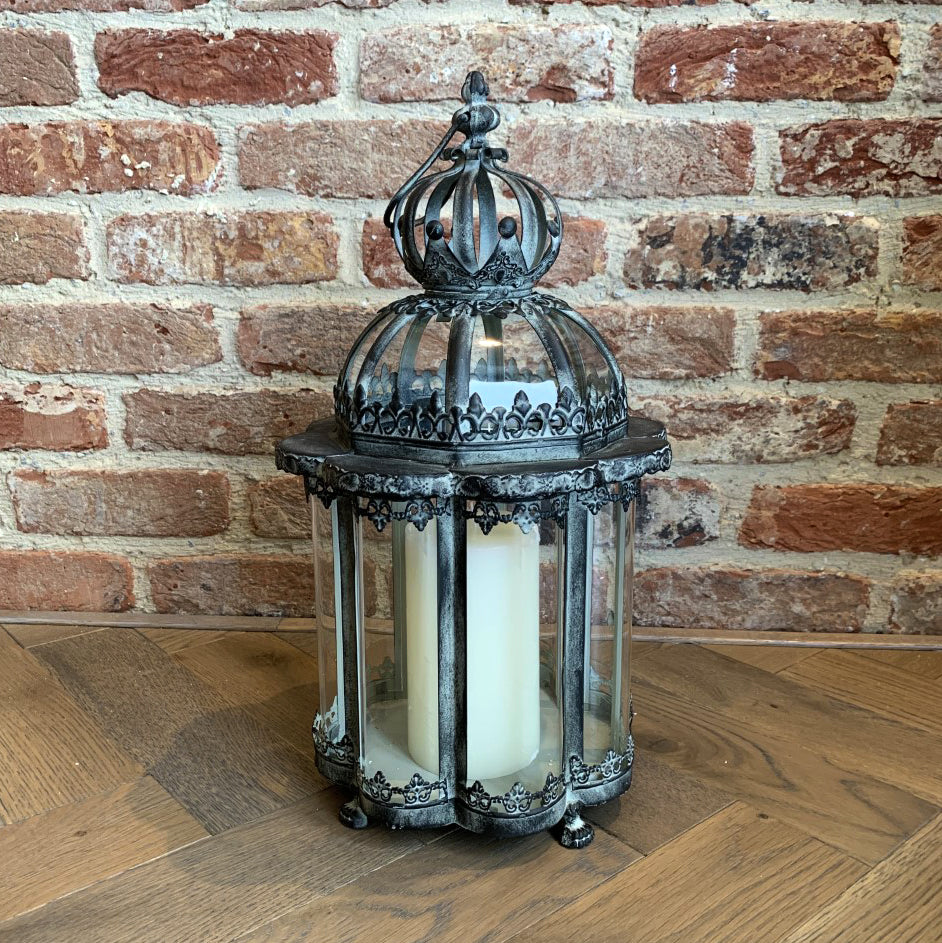 Queen Large Metal Lantern - HomePlus Furniture