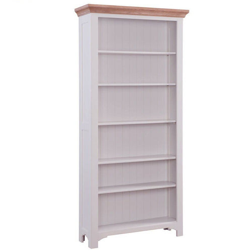 Georgia Grey Painted Oak Bookcase
