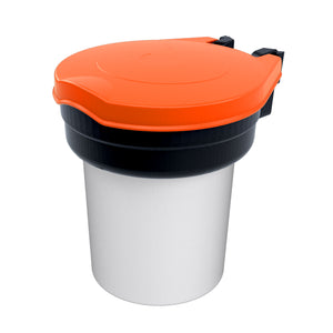 Orange Skipper safety dispenser