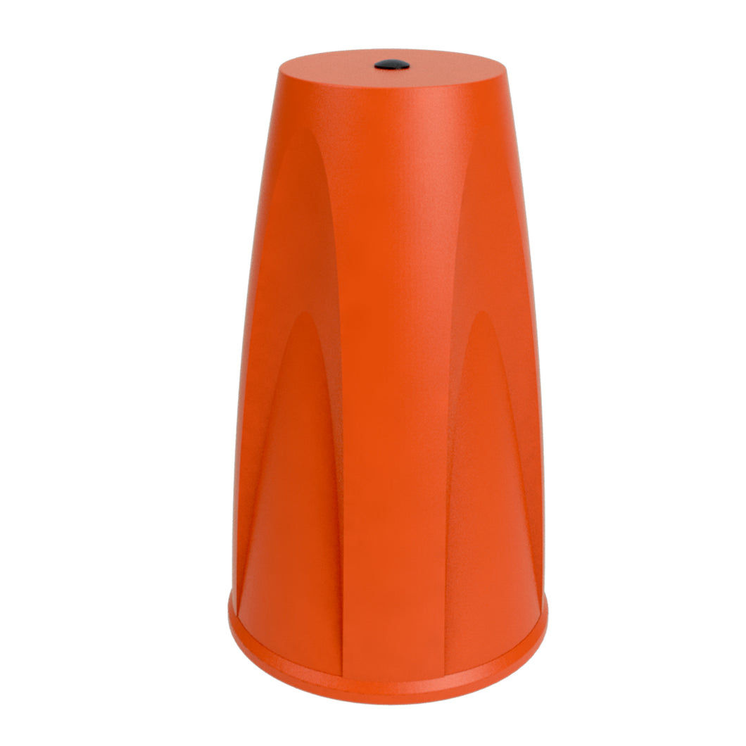 Orange Skipper post & base cap