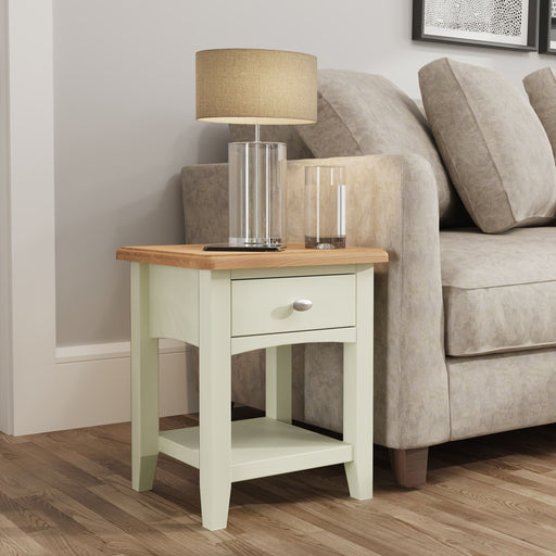 Gillamoor 1 Drawer Side Table