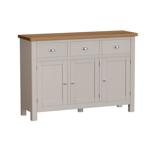 Rillington 3 Drawer 3 Door Sideboard