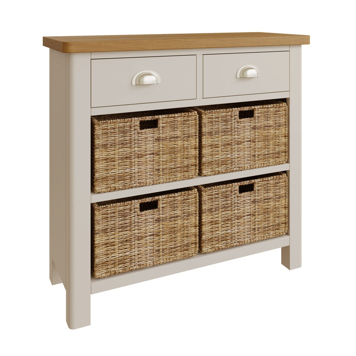 Rillington 2 Drawer, 4 Basket Unit
