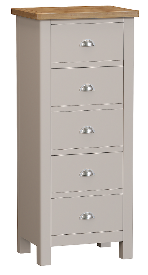 Rillington 5 Drawer Narrow Chest