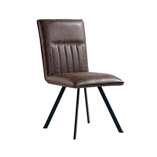 Faux Suede Dining Chair (Sold in Pairs)