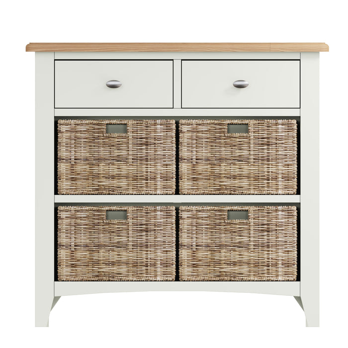Gillamoor 2 Drawer, 4 Basket Unit