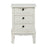 Antoinette Three Drawer Bedside