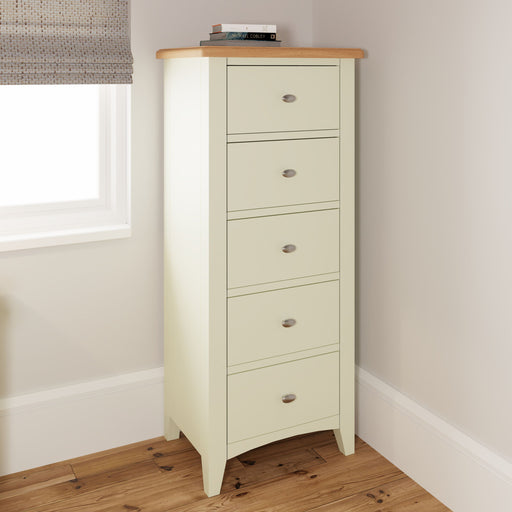 Gillamoor 5 Drawer Narrow Chest