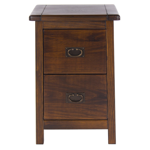 Boston Two Drawer Petite Bedside Cabinet