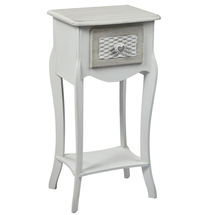 Brittany One Drawer Bedside Cabinet