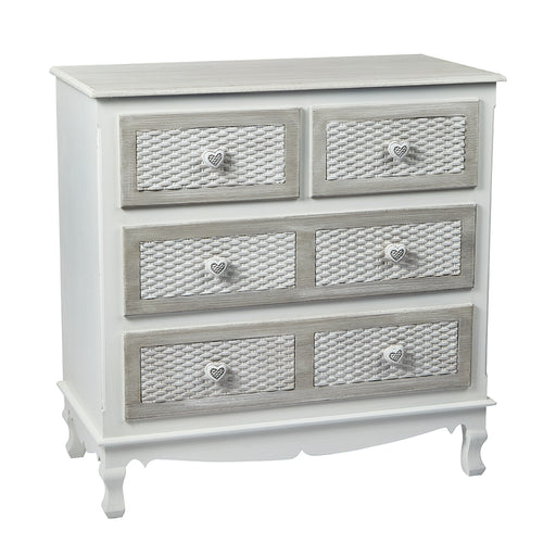 Brittany Two + Two Drawer Chest