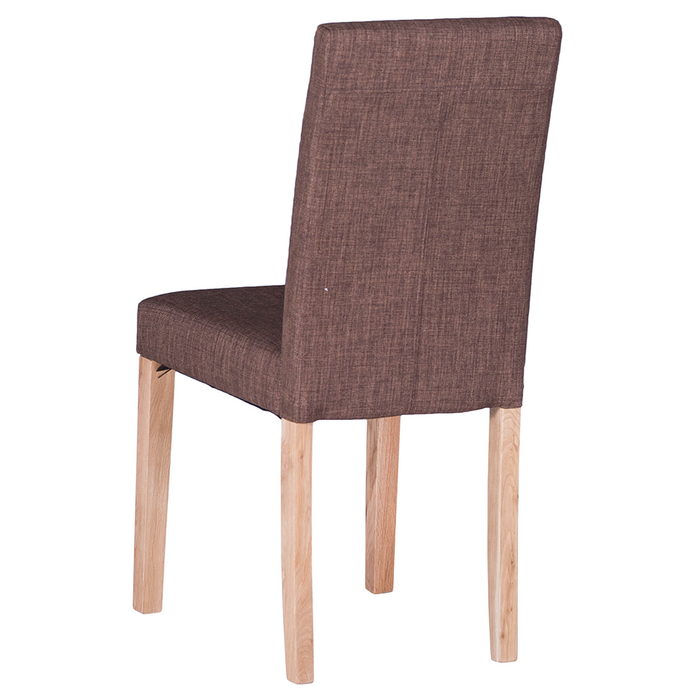 Straight Back Fabric Chair (Self Assembly) (sold in pairs)