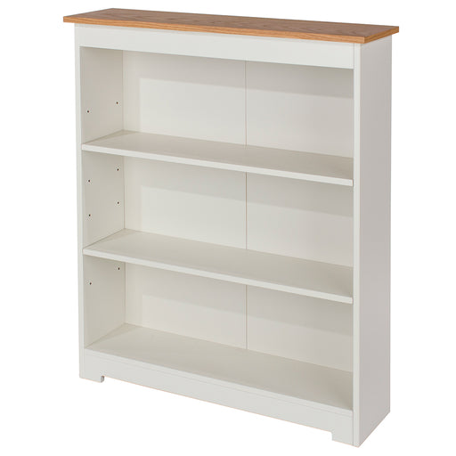 Colorado Low Wide Bookcase (with adjustable shelves)