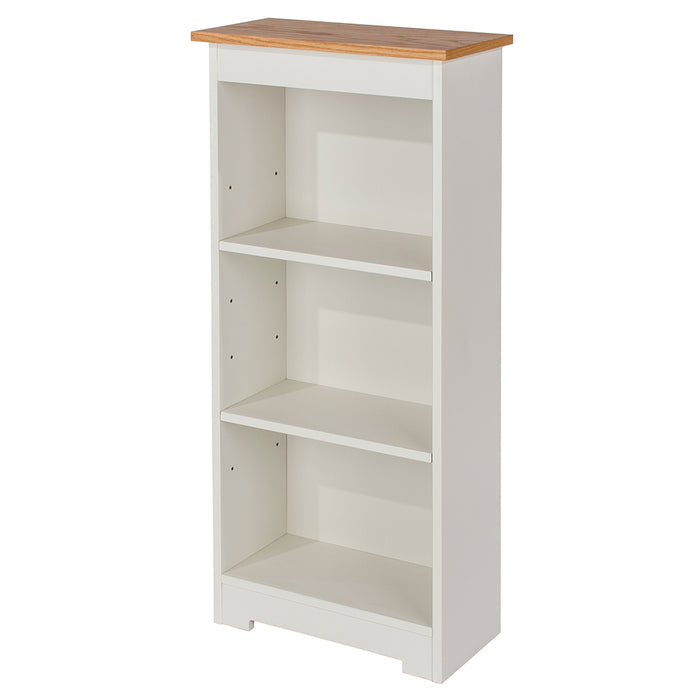 Colorado Low Narrow Bookcase (with adjustable shelves)