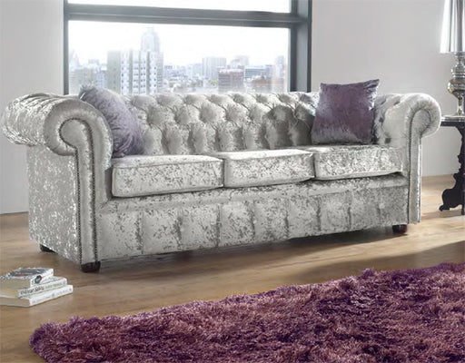 Chesterfield Fabric Sofa