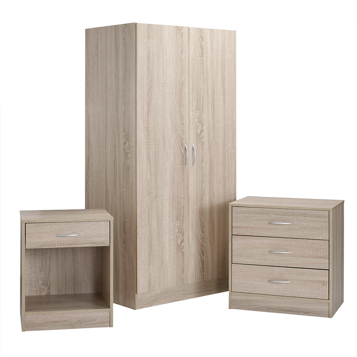 Delta Three Piece Bedroom Set