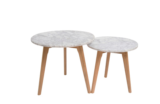 Harlow Round Nest of 2 Tables
