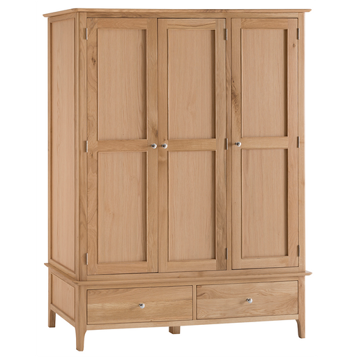Norton Three Door Two Drawer Wardrobe