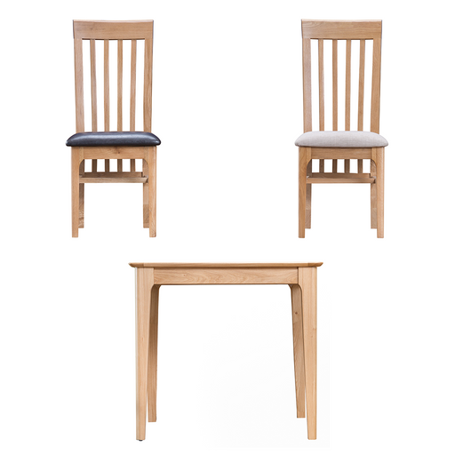 Norton Small Fixed Table with Two Chairs