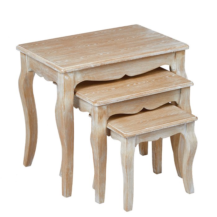 Provence Nest of Three Tables