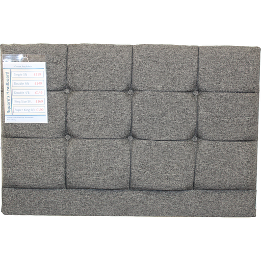Squares Headboard Only